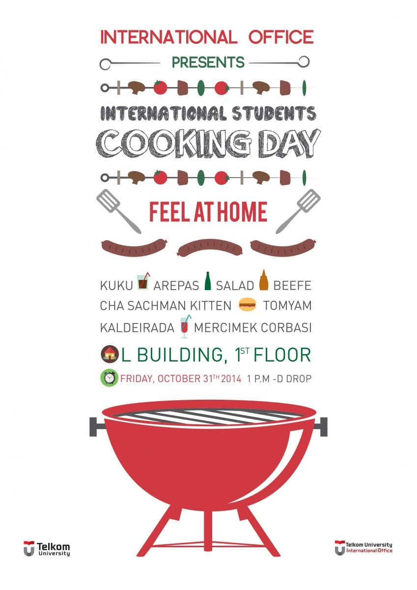 International Students Cooking Day October 2014