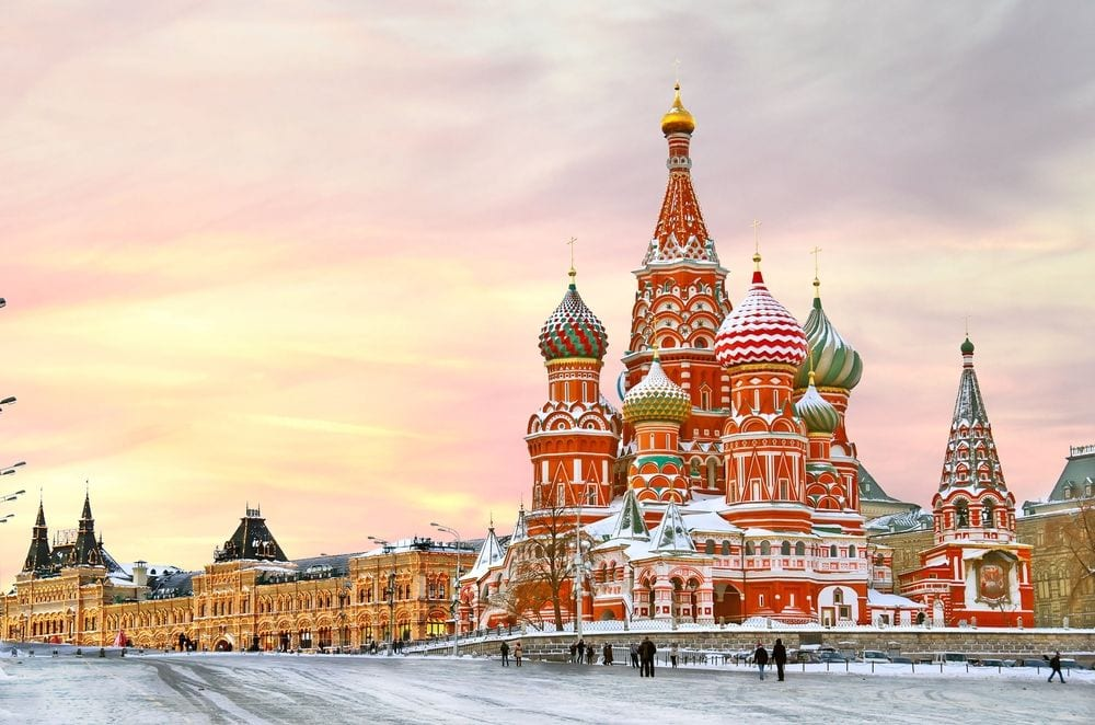 Moscow, Russia - St. Basil's Cathedral_1_0