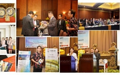 Telkom University held the 2014 International Conference on Global Trends Academics Research (GTAR)