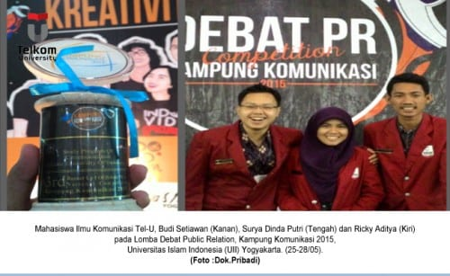 Student of FKB becomes Third Champion of Debate Competition