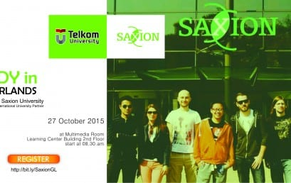 Seminar Study in Netherlands by Saxion University