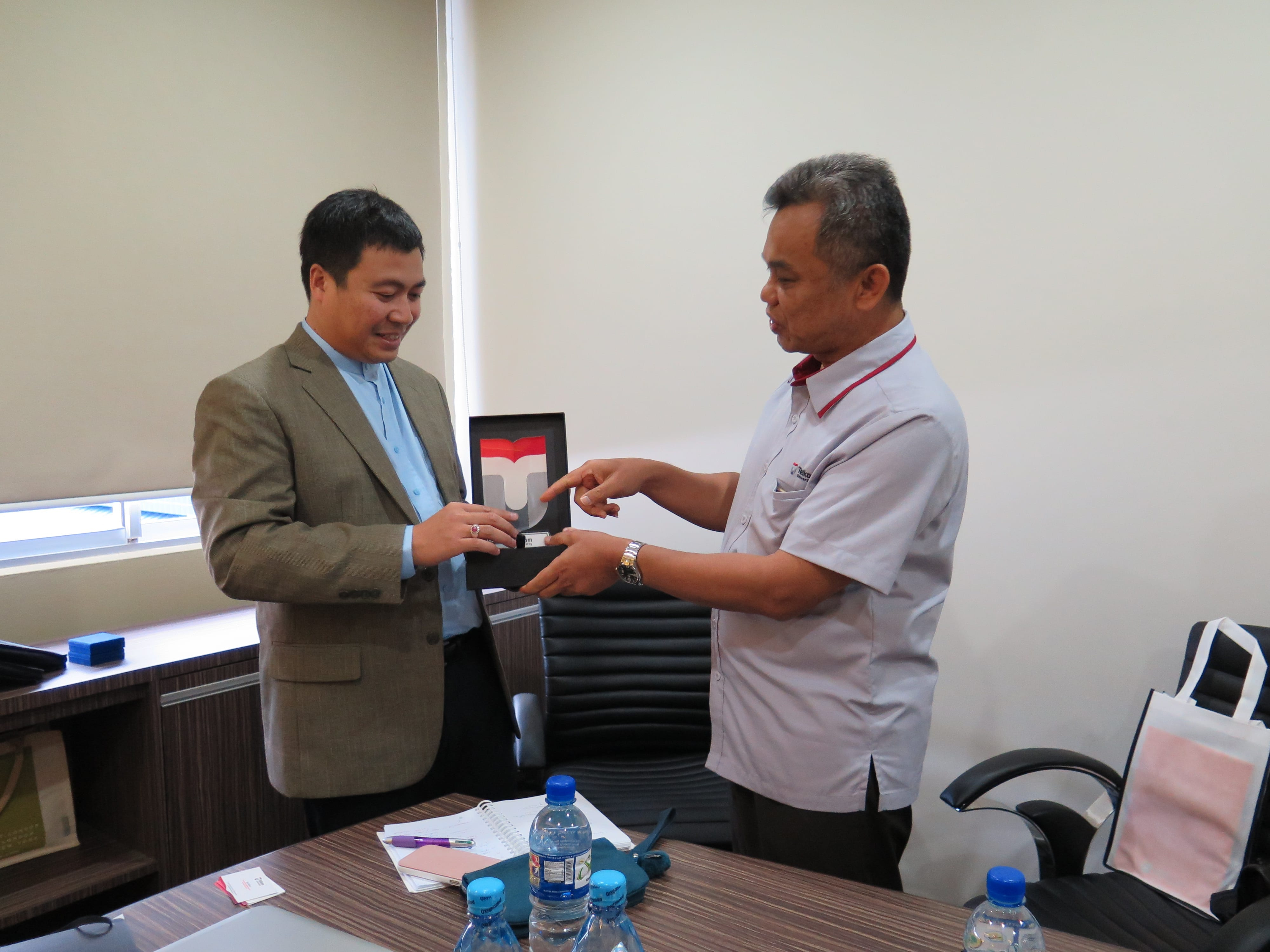 Cooperation Initiation with Brunei Institute of Technology (ITB)