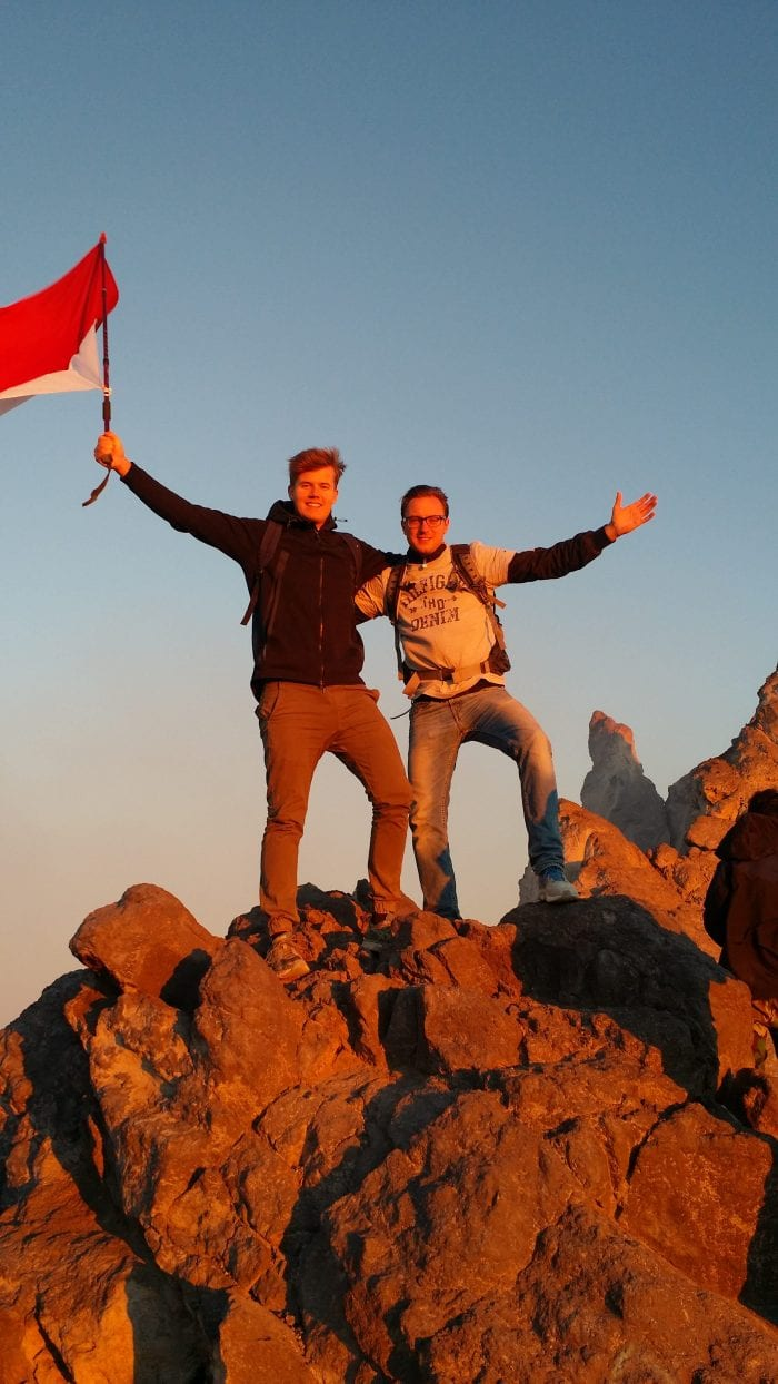 The Story of Two Dutch Students in Indonesia
