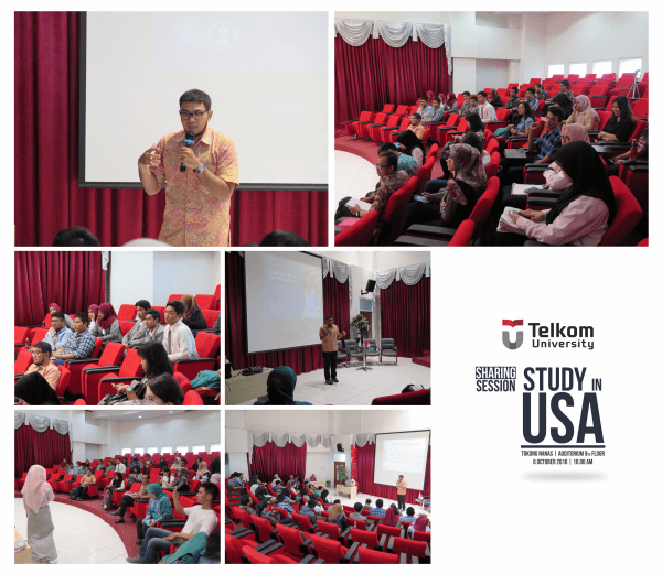 Sharing Session US Embassy : Study in US