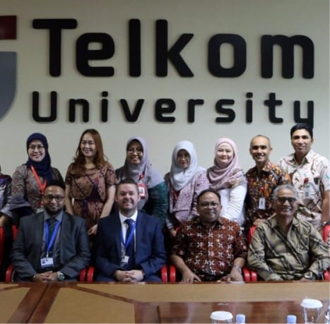 Three Telkom University's Faculties Aimed for ASIC Accreditation