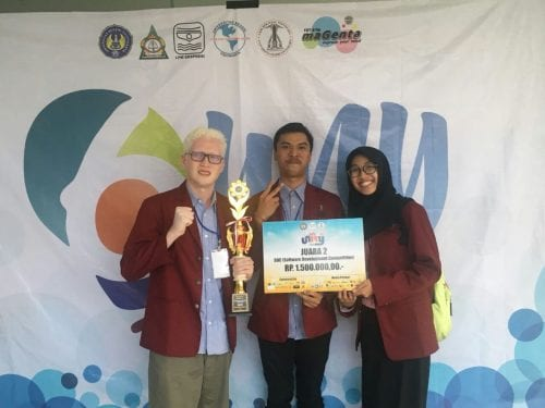 Telkom University's Students Won 2nd Place in Unity 2018 Competition