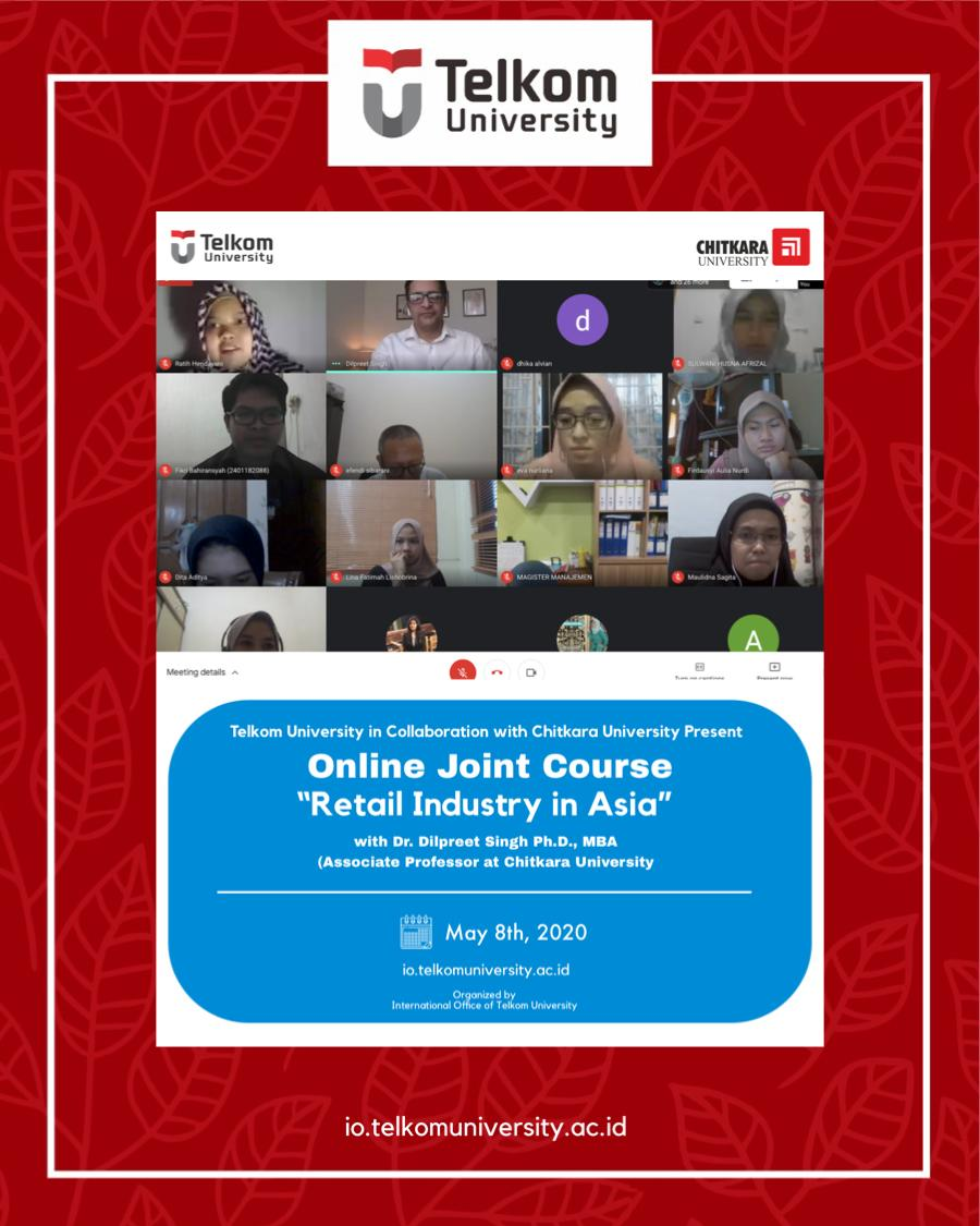 Retail Industry in Asia: Online Joint Course Telkom University & Chitkara University: #2.