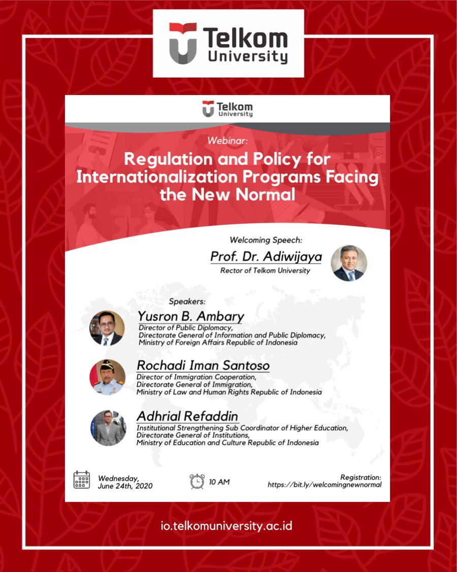 Upcoming Webinar: Regulation and Policy for Internationalization Programs Facing the New Normal