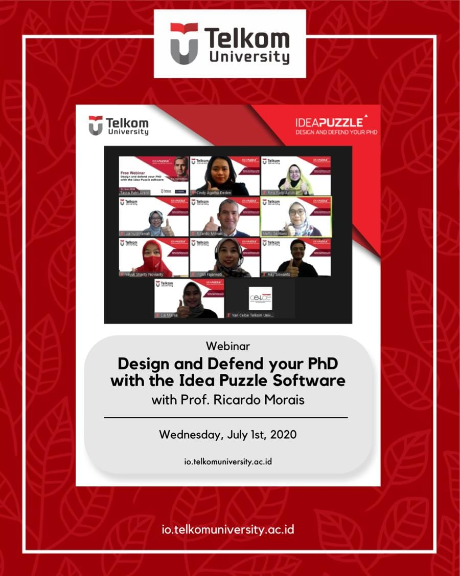 """Webinar: """"Design and Defend Your PhD with the Idea Puzzle Software"""""""