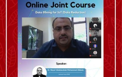Data Mining for IoT (Data Reduction): Online Joint Course Tel-U & UTHM