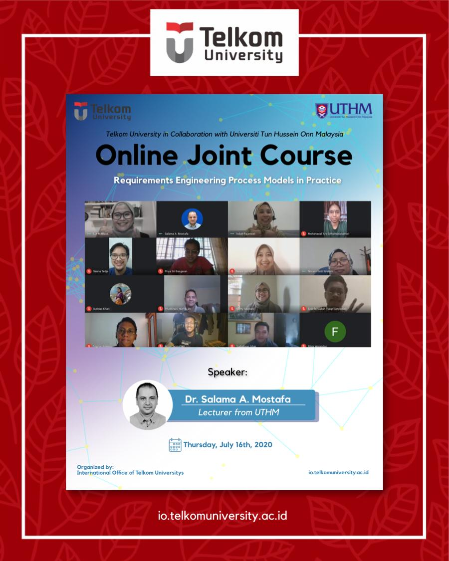 Requirements Engineering Process Models in Practice, Online Joint Course Telkom University & UTHM