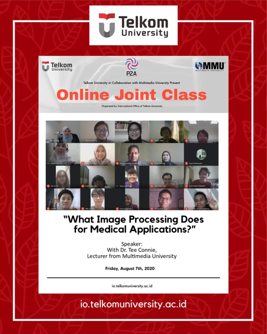 What Image Processing Does for Medical Applications, the 5th Online Joint Class Telkom University & MMU