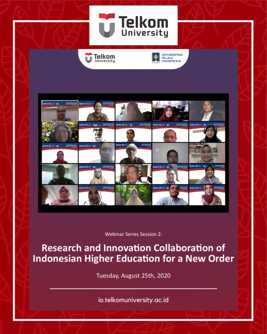 Collaborative Research and Innovation of Indonesian Higher Educations for the New Order