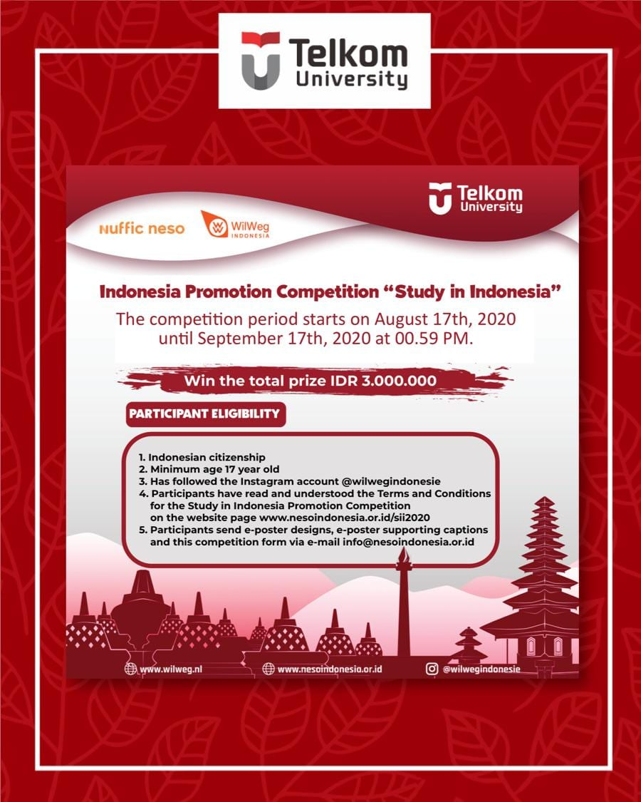 """Indonesia Promotion Competition """"Study in Indonesia"""""""