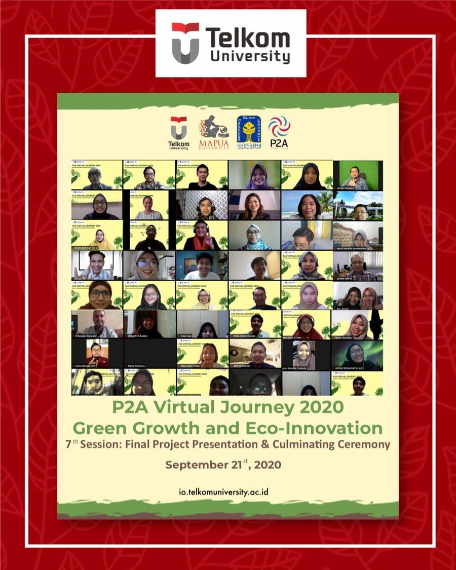 Closing Ceremony of P2A Virtual Journey 2020