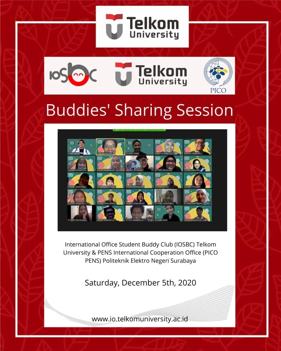 Buddies' Sharing Session with IOSBC and PICO PENS