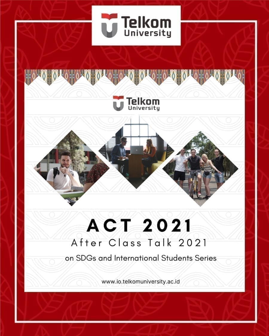 After Class Talk 2021 on SDGs and International Students Series