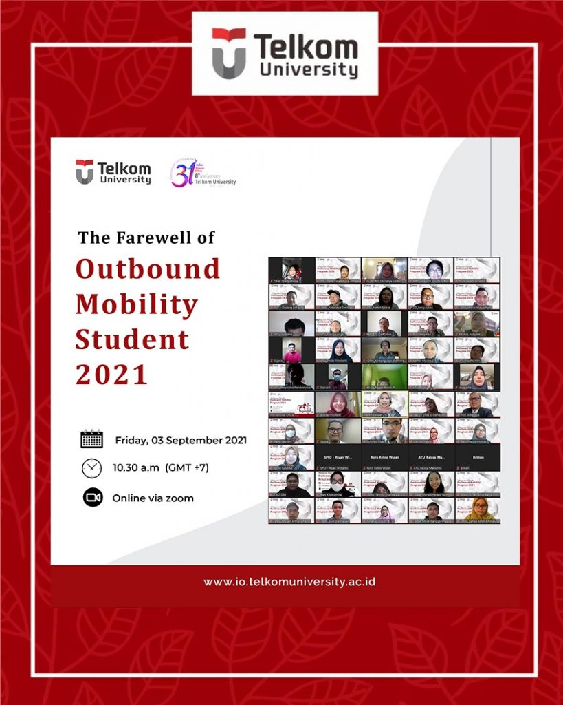farewell outbound mobility student 2021