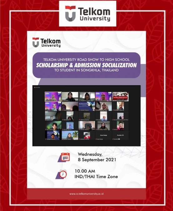 Socialization of Scholarship and Admission to Student in Thailand