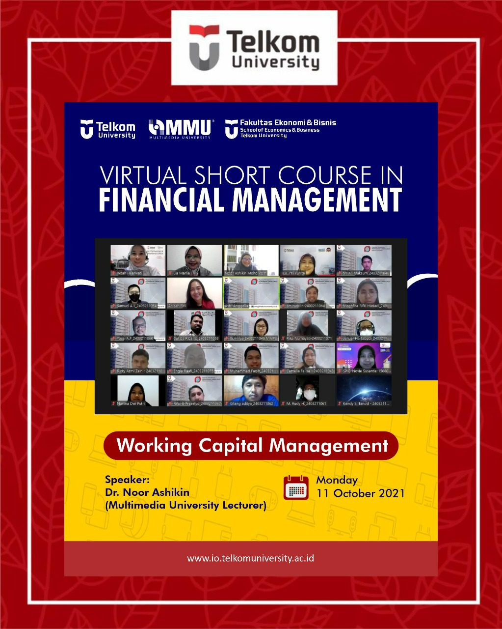 Financial Management Virtual Short Course: 7th Meeting