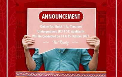 Timorese Applicants Online Test